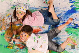 Творчество с двумя детьми: вместе - веселее!