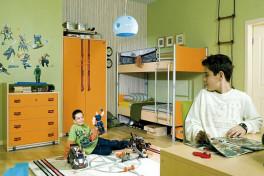 Дизайн детской для двух мальчиков – стиль и цвет