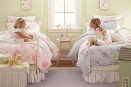 Дизайн детской для двух девочек: долой стереотипы