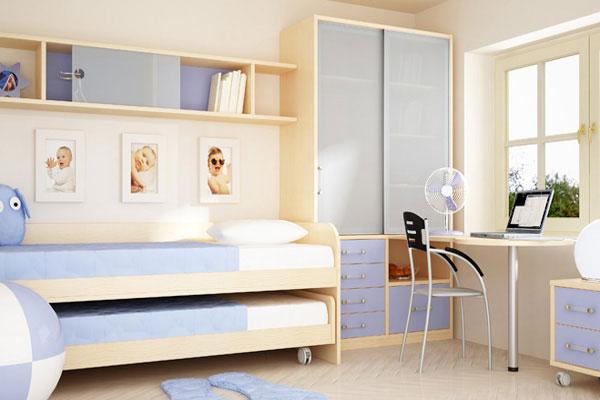 Кроватки для двоих детей фото