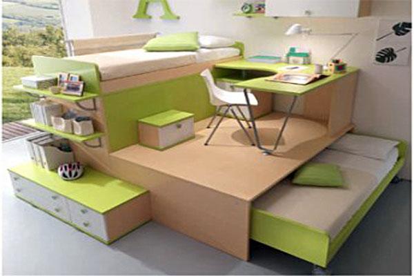 4 - Como distribuir una habitacion con dos camas ...